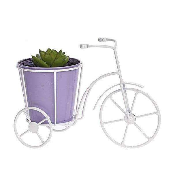 Květináč Bicycle, fialový