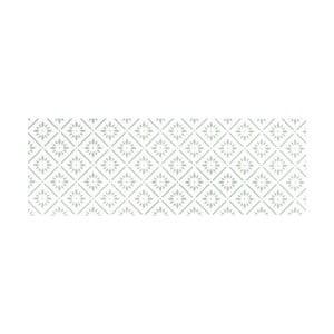 Bílý běhoun White Label Vintage, 195 x 120 cm