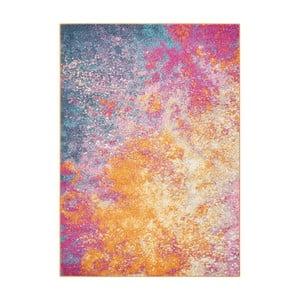 Koberec Nourison Passion Sunburst Multicolor, 175 x114 cm
