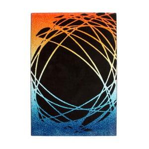 Koberec Lifestyle 111 black/orange, 120x170 cm