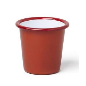 Pahar smălțuit Falcon Enamelware, 124 ml, roșu