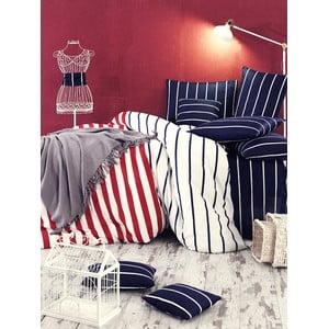 Lenjerie de pat cu cearșaf din bumbac Trend It Up, 200x220cm