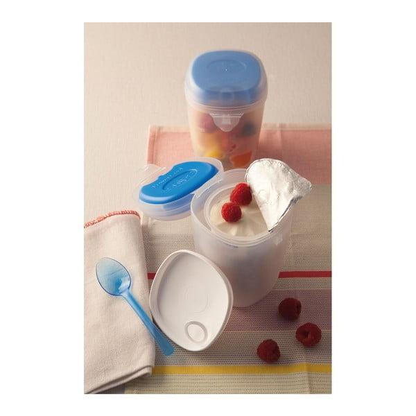 Dóza na jogurt se lžičkou Snips