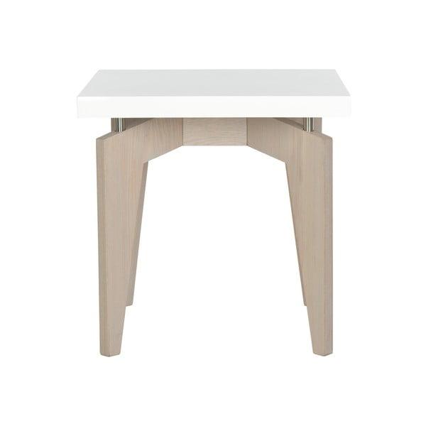 Odkládací stolek Josef, světlé nohy