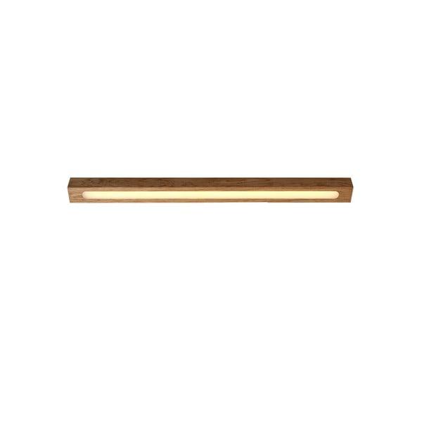 Plafonieră din lemn de stejar Custom Form Line Plus L