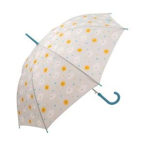 Šedý deštník Mr. Wonderful Nube