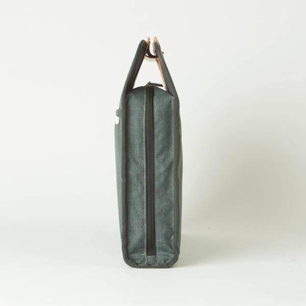Taška/obal na notebook R Brief 110 Kodra, charcoal