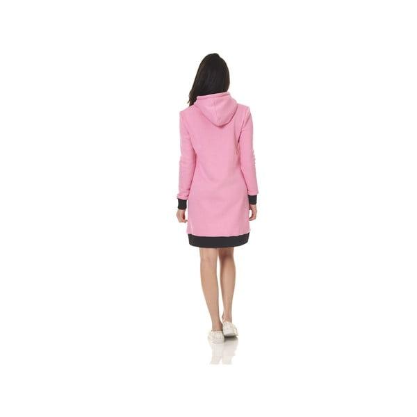 Domácí dlouhá mikina Streetfly Pink, vel. L