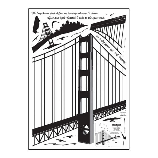Samolepka Ambiance San Francisco