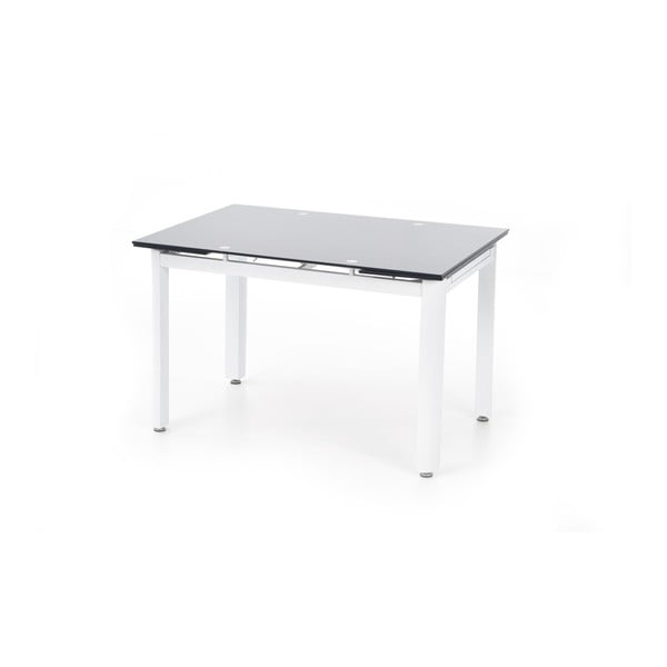 Rozkládací jídelní stůl s černou deskou Halmar Alston, délka120-180cm