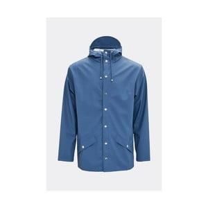 Modrá unisex bunda s vysokou voděodolností Rains Jacket, velikost L/XL
