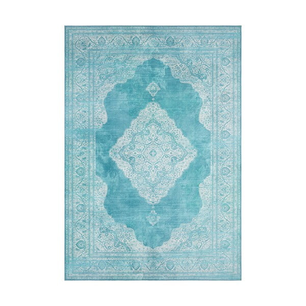 Turkusowy dywan Nouristan Carme, 80x150 cm