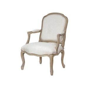 Béžová jídelní židle s konstrukcí z březového dřeva Livin Hill Venezia