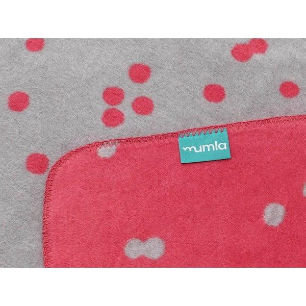 Bavlněná deka Mumla Confetti, 100x150cm