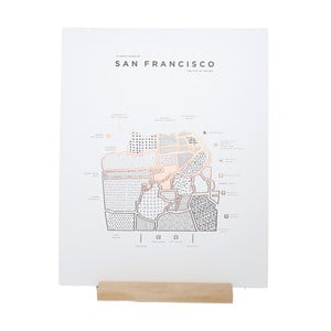 Poster Roam by 42 Pressed San Francisco