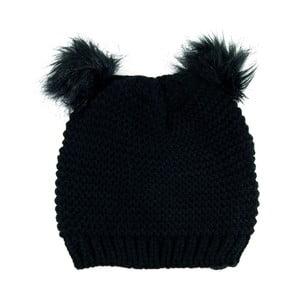 Čepice Cute Cat Black