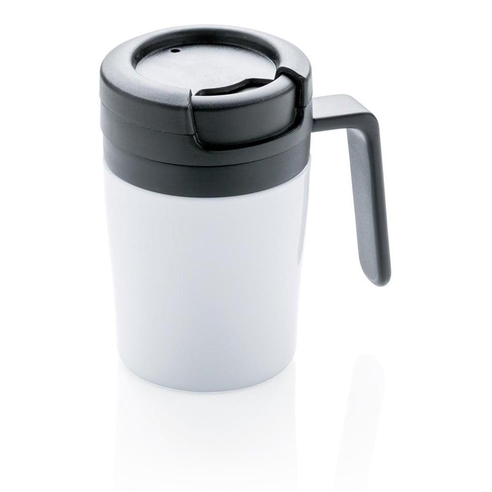 Bílý termohrnek s ouškem XDDesign Coffee to Go, 160ml