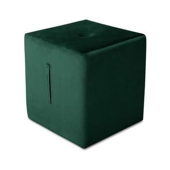 Puf Mazzini Sofas Margaret, 40 x 45 cm, verde de la Mazzini Sofas
