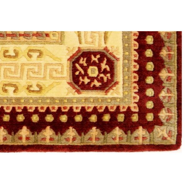 Vlněný koberec Bakero Vanilla/Red, 170x240 cm