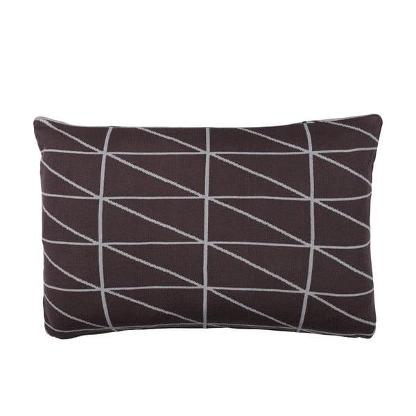 Oboustranný polštář s náplní Gate Grey, 40x60 cm