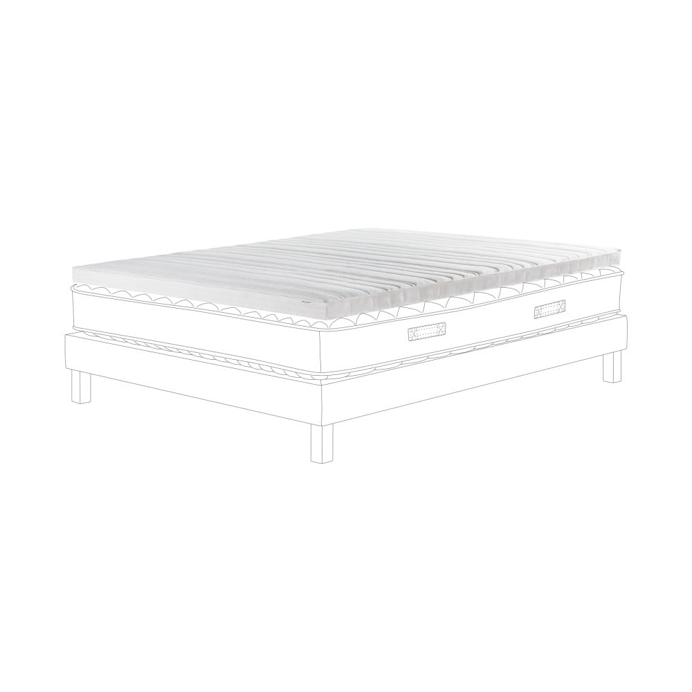 Podložka na matraci z vysoce odolné pěny Ted Lapidus Maison CRISTAL Topper, 180x200cm