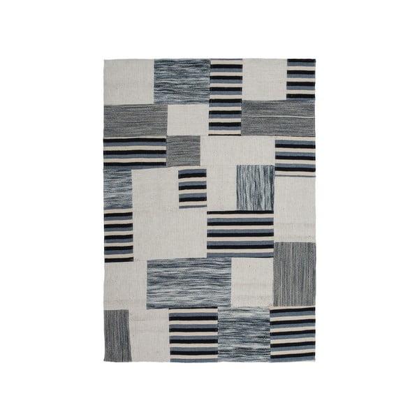 Vlněný koberec Omnia no. 2,160x230cm