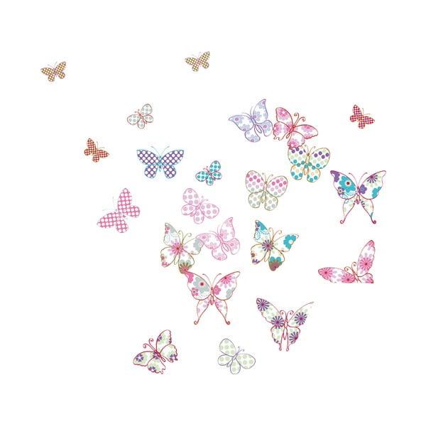 Dekorativní samolepka Motýlci