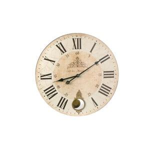 Dřevěné hodiny Antic Line Café, 59cm