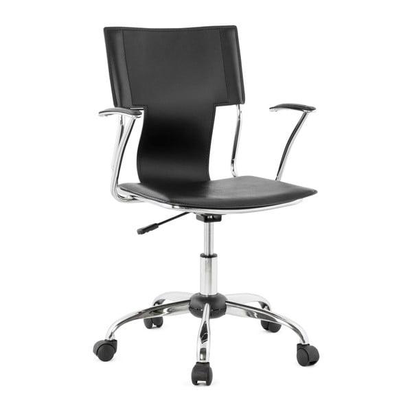 Czarny fotel biurowy Kokoon Oxford