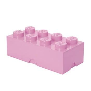 Cutie depozitare LEGO®, roz deschis de la LEGO®