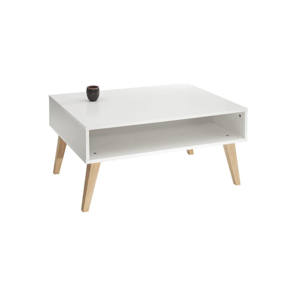 Bílý konferenční stolek Symbiosis Kola