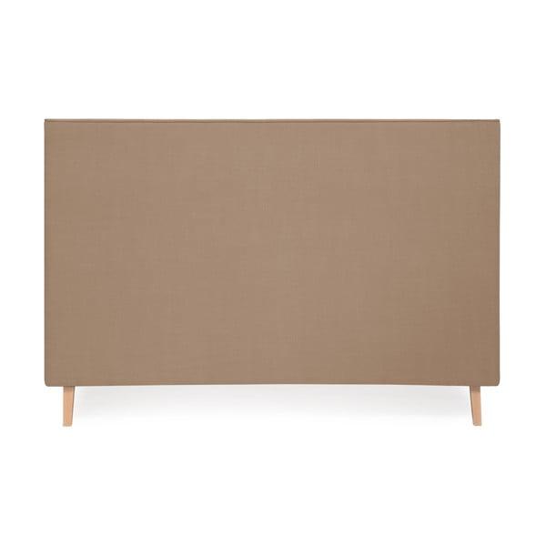 Postel ve velbloudí hnědé barvě Vivonita Kent Linen, 200x140cm