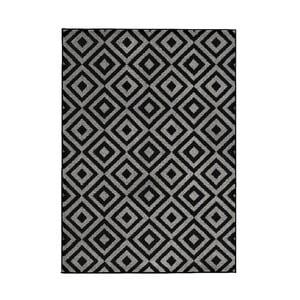 Koberec Matrix Black Grey 120x170 cm