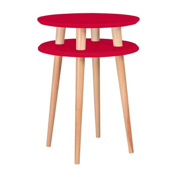 Ufo piros tárolóasztal, ⌀ 45 cm - Ragaba