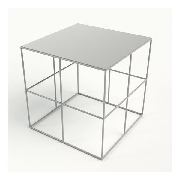 Odkládací stolek Goteborg White
