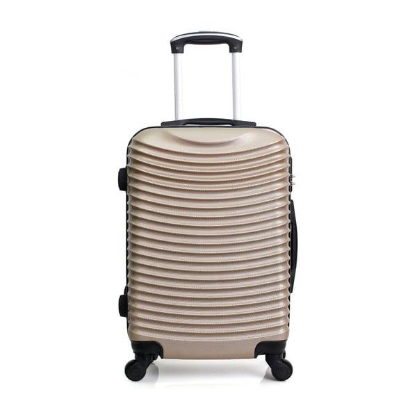 Sada 3 cestovních kufrů ve zlatobéžové barvě na kolečkách Hero Jasmine