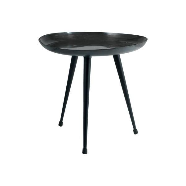 Černý příruční stolek Fuhrhome Beijing