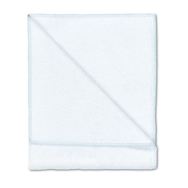 Sada 2 osušek Whyte 100x150 cm, bílá/modrá