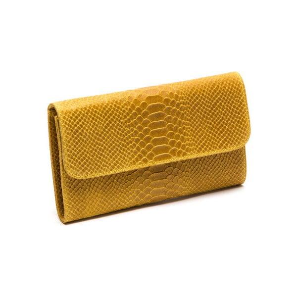 Kožená kabelka Isabella Rhea 8018 Giallo