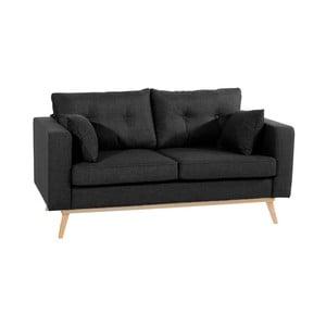 Canapea cu 2 locuri Max Winzer Tomme, negru