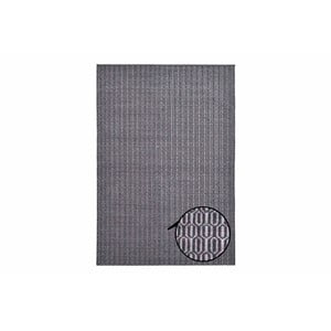 Koberec Flat Honey Comb Grey, 140x200 cm