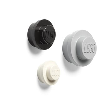 Set 3 cuiere pentru perete LEGO® Black And White imagine