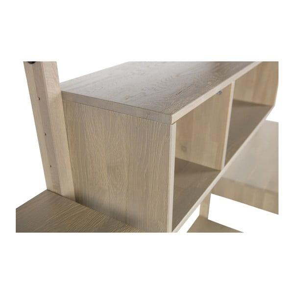 Konstrukce z dubového dřeva k nástěnné sestavě De Eekhoorn Gyan