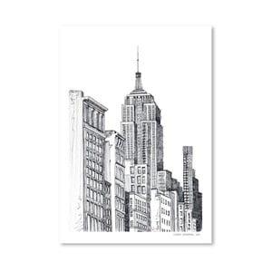 Plakát New York, 30x42 cm