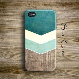 Obal na iPhone 5/5S Wood Arrow Green