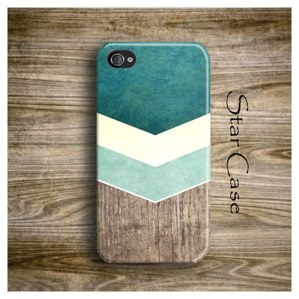 Obal na iPhone 4/4S Wood Arrow Green