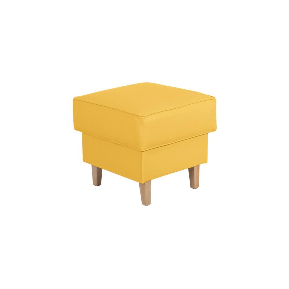 Žlutá podnožka Max Winzer Lorris Leather Corn