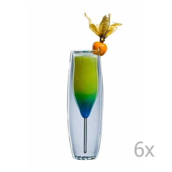 Sada 6 sklenic bloomix Prosecco