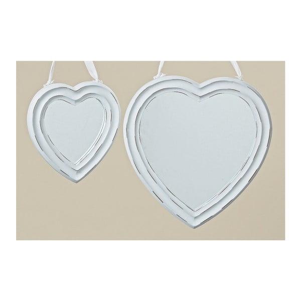 Sada 2 zrcadel Heart