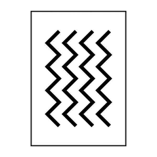 Plakat Imagioo Waves, 40x30 cm